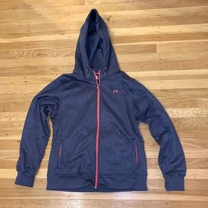 Under Armour zip up hoodie Large